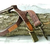 Brown Waxed Cotton Dog Lead